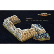 28mm Sandbag AT Gun emplacement 1/48