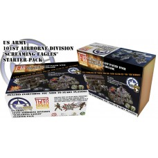 "US ARMY - 101st Airborne Division ""Screaming Eagles"" Starter Pack 1/48"