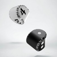 D2&D4 Unique Runic Dice Set