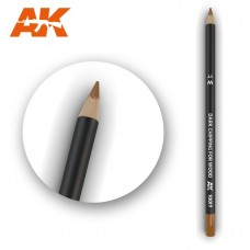 Watercolor Pencil Dark Chipping for wood