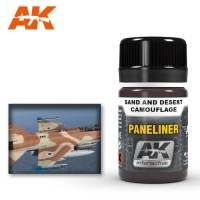 Paneliner for sand and desert camouflage