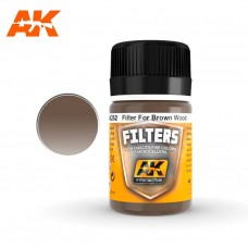 Red Brown Filter / Filter for Wood