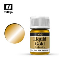 Vallejo Liquid Gold: Red Gold