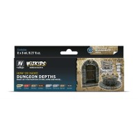 Vallejo Wizkids Dungeon Depths (8 colors)