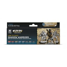 Vallejo Wizkids Shadow Warriors (8 colors)