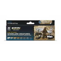 Vallejo Wizkids Woodland Creatures (8 colors)