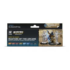 Vallejo Wizkids Masters of the Arcane (8 colors)