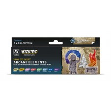 Vallejo Wizkids Arcane Elements (8 colors)