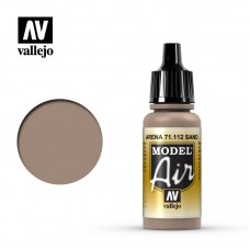 Vallejo Model Air 71.112: US Sand 17 ml.