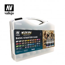 Vallejo Wizkids Basic Starter Case (40 colors)