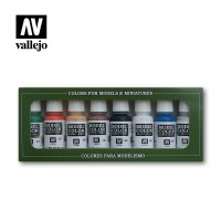 Vallejo Model Color Set 103: Wargames Basics (8 colors)