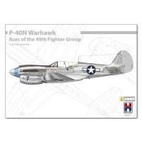 P-40N Warhawk Aces of The 49th Fighter Group 1/48