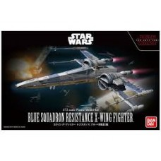Star Wars Blue Sq. Resistance X-Wing Fighter 1/72