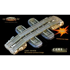 15mm M2 modular pontoon bridge (US)