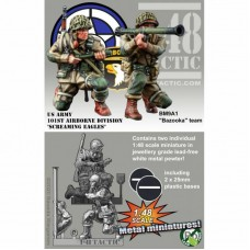 Bazooka Team Double Pack - US Army 101st Airborne Division 1/48