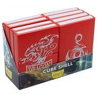 Dragon Shield: Cube Shell - Red