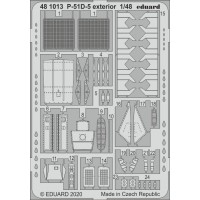 P-51D-5 exterior photo-etched 1/48