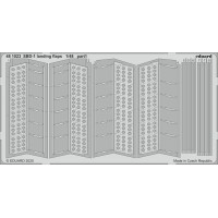 SBD-1 landing flaps photo-etched 1/48