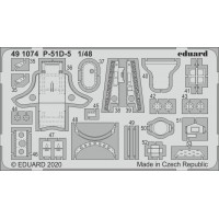 P-51D-5 interior photo-etched 1/48