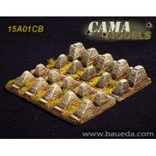 15mm Dragon Teeth 1/72