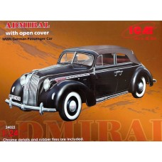 ADMIRAL Cabriolet with open cover 1/24