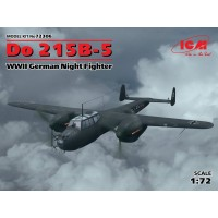 Dornier Do 215B-5 German WWII Night Fighter 1/72