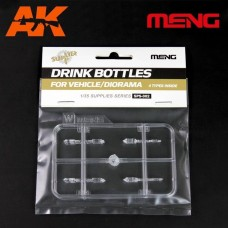 Drink Bottles for Vehicle/Diorama(4types) 1/35
