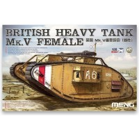 British Heavy Tank Mk.V Female 1/35