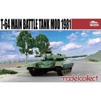 T-64A Main Battle Tank Mod 1981 1/72