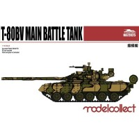 T-80BV Main Battle Tank 1/72