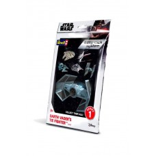 Star Wars Level 2 Easy-Click Snap Model Kit Series 1 Darth Vader TIE Fighter