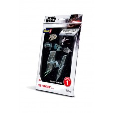Star Wars Level 2 Easy-Click Snap Model Kit Series 1 TIE Fighter