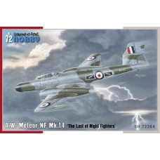 A.W. Meteor NF Mk.14 The Last of Night Fighters 1/72