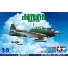 Mitsubishi A6M3/3a Zero Fighter Model 22 (Zeke) 1/72