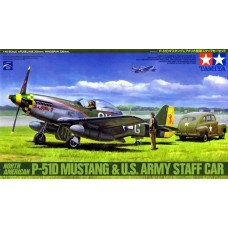 P-51D Mustang and Staff Car 1/48