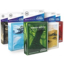 Ultimate Guard Land Edition Sleeves Standard Size (80)