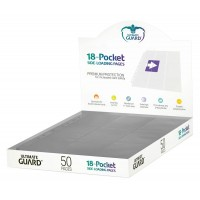 Ultimate Guard 18-Pocket Pages Side-Loading Grey