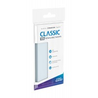 Ultimate Guard Classic Sleeves Resealable Standard Size Transparent (100)