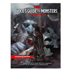 D&D Volo's Guide to Monsters Book