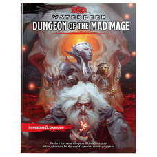 D&D Waterdeep - Dungeon of the Mad Mage Book
