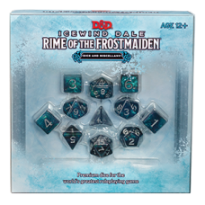 D&D Icewind Dale: Rime of the Frostmaiden - Dice and Miscellany
