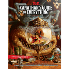 D&D Xanathar's Guide to Everything Book