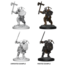 D&D Nolzur's Marvelous Miniatures: Earth Genasi Fighter
