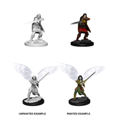 D&D Nolzur's Marvelous Miniatures: Aasimar Fighter F