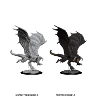 D&D Nolzur's Marvelous Miniatures: Young Black Dragon