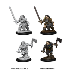 Pathfinder Battles Deep Cuts: Dwarf Barbarian F