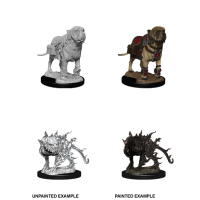 D&D Nolzur's Marvelous Miniatures: Mastiff & Shadow Mastiff