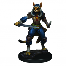 D&D Icons:Tabaxi Female Rogue Premium Figure