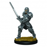 D&D Icons: Human Male Fighter Premium Figure