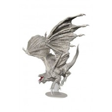 D&D Icons: Adult White Dragon Premium Figure